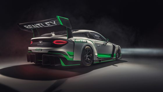 Bentley Continental GT3 Rear Side