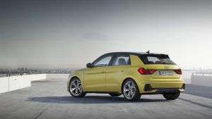 2018 Audi A1 S Line - Yellow