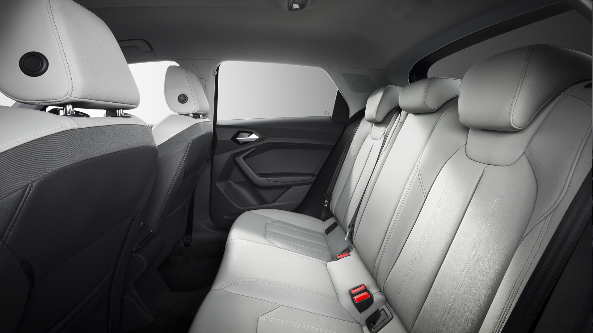 Audi A1 Rear Seating
