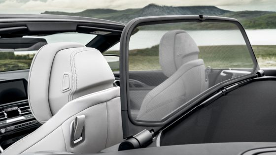 BMW 8 Series Convertible Wind Deflector