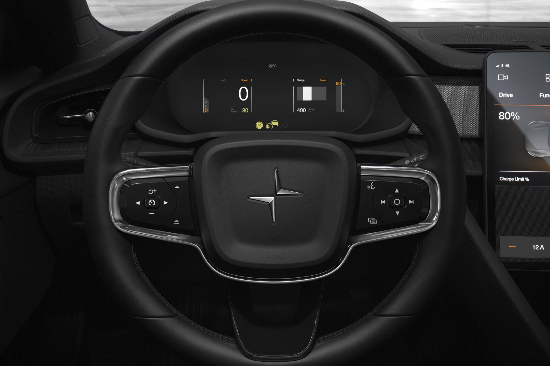 Polestar 2 Steering Wheel