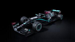 Mercedes-AMG Petronas All Black Livery F1 2020