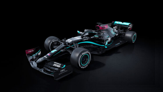 Mercedes-AMG Petronas All Black Livery F1 2020