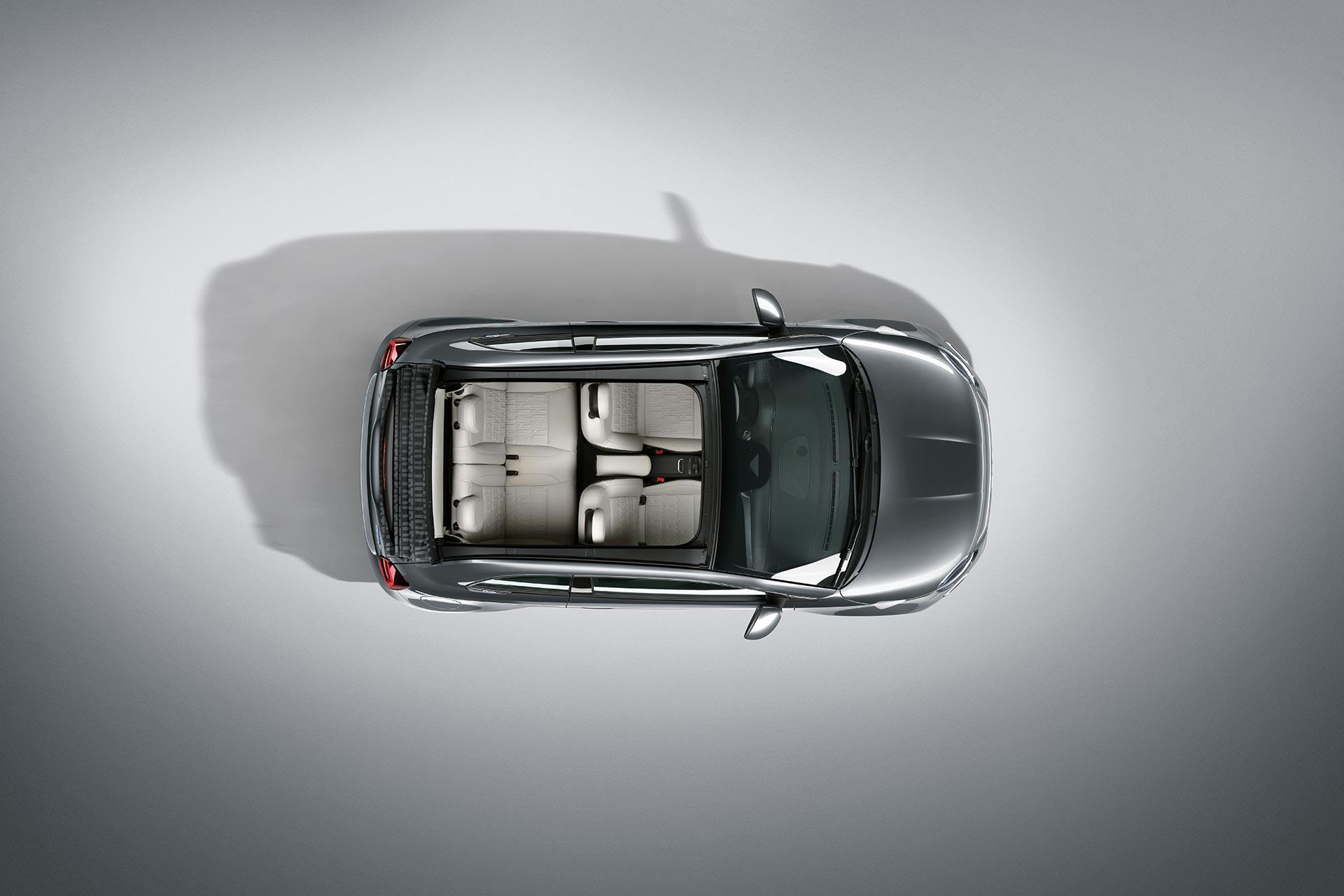 Fiat 500c electric La Prima top view