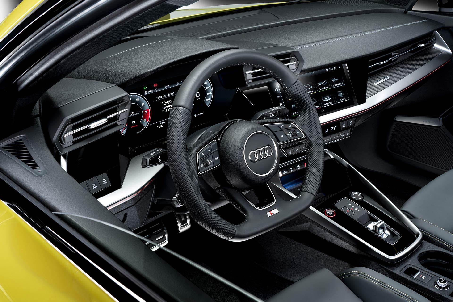 2020 Audi S3 Steering Wheel