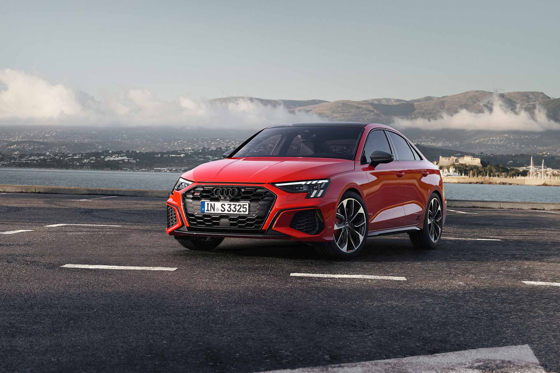 New 2020 Audi S3 sedan front