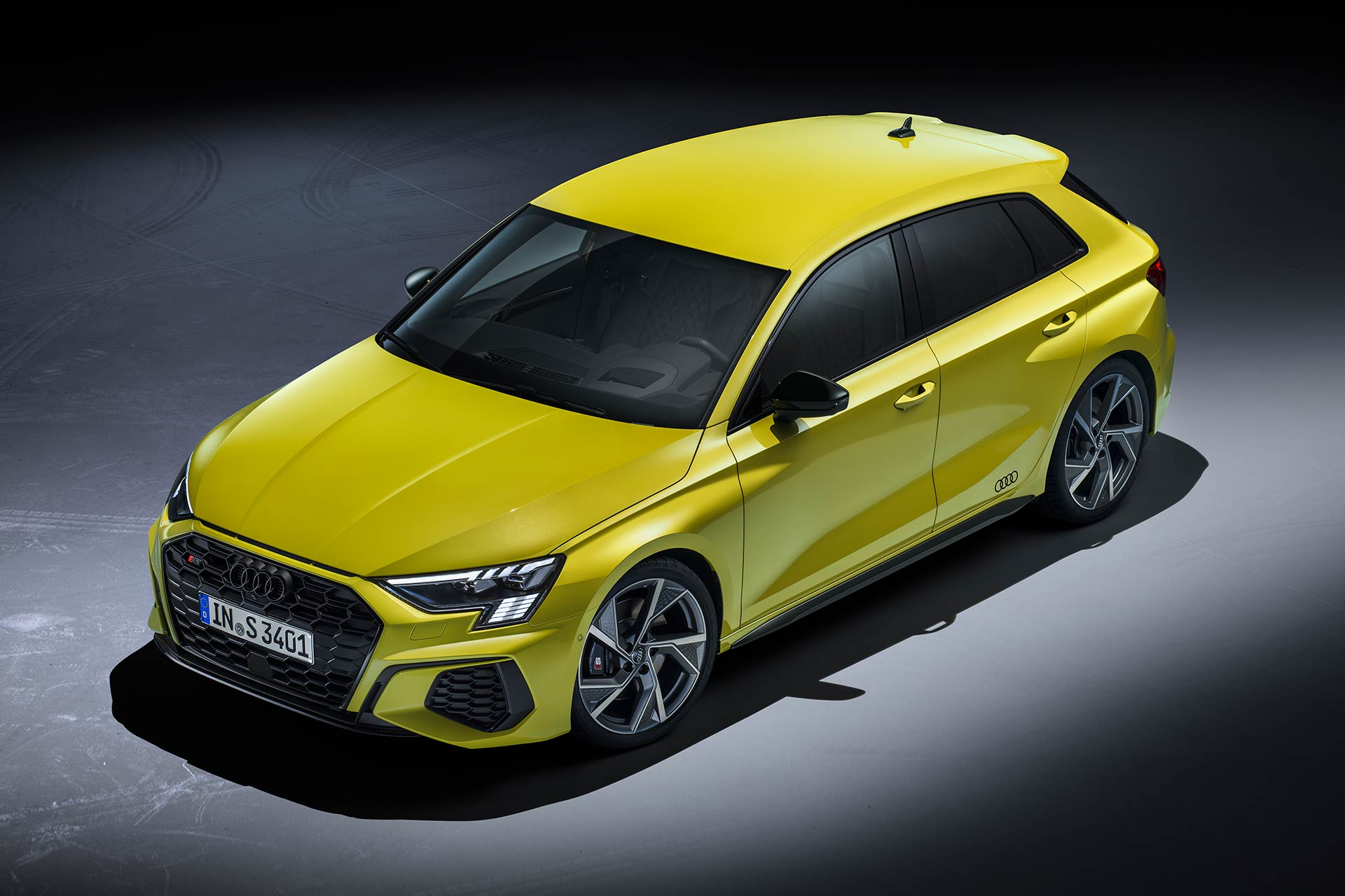 2020 Audi S3 sportback top front