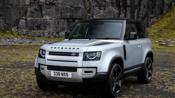 New Land Rover Defender 90