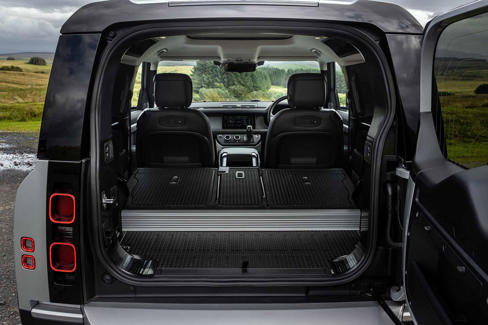 New Land Rover Defender Cargo