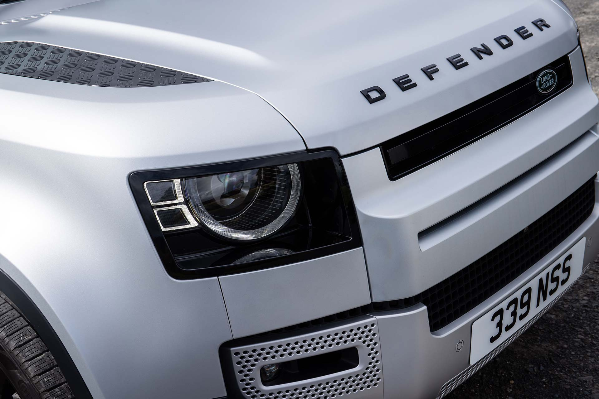 New Land Rover Defender Front