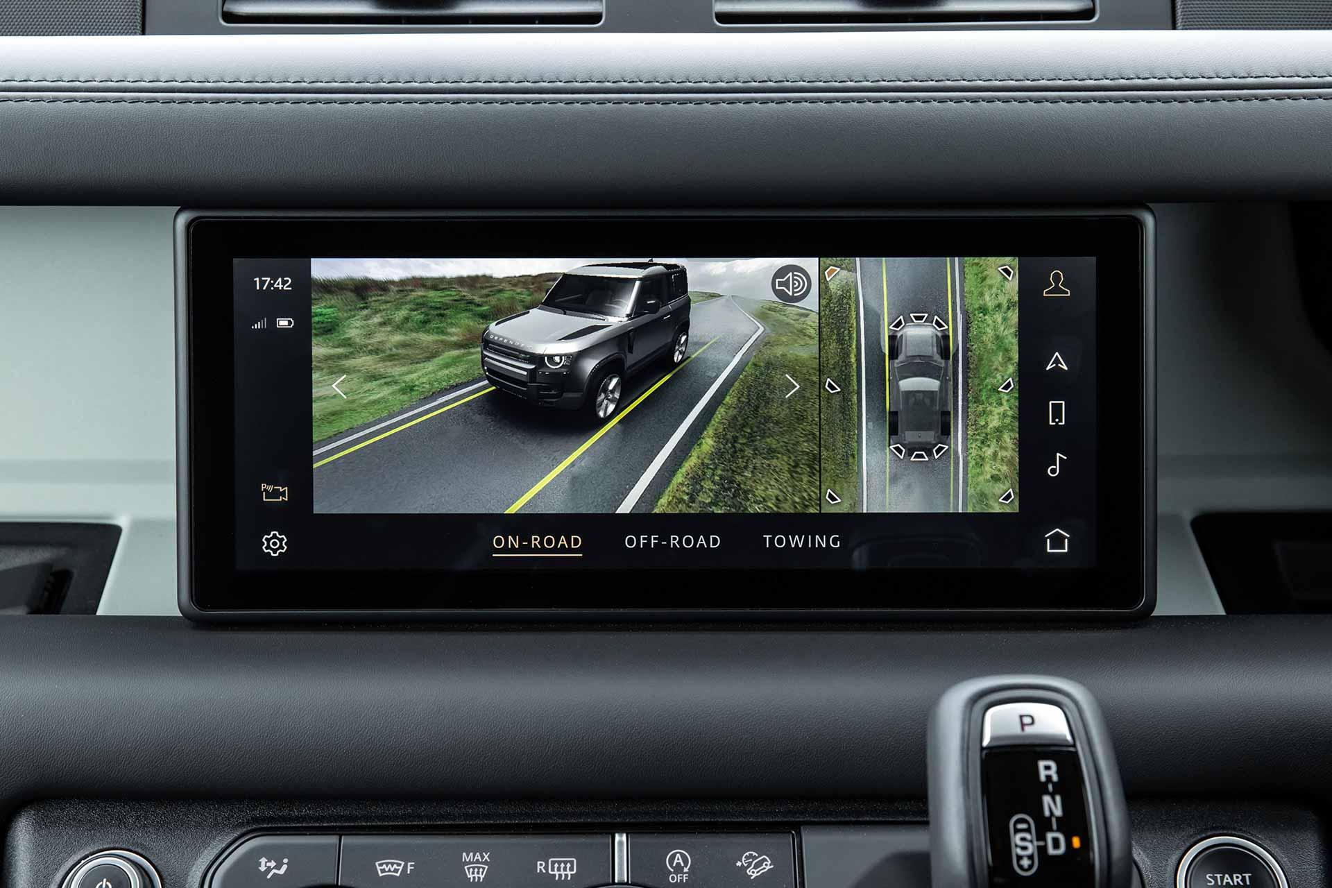 New Land Rover Defender Dashboard