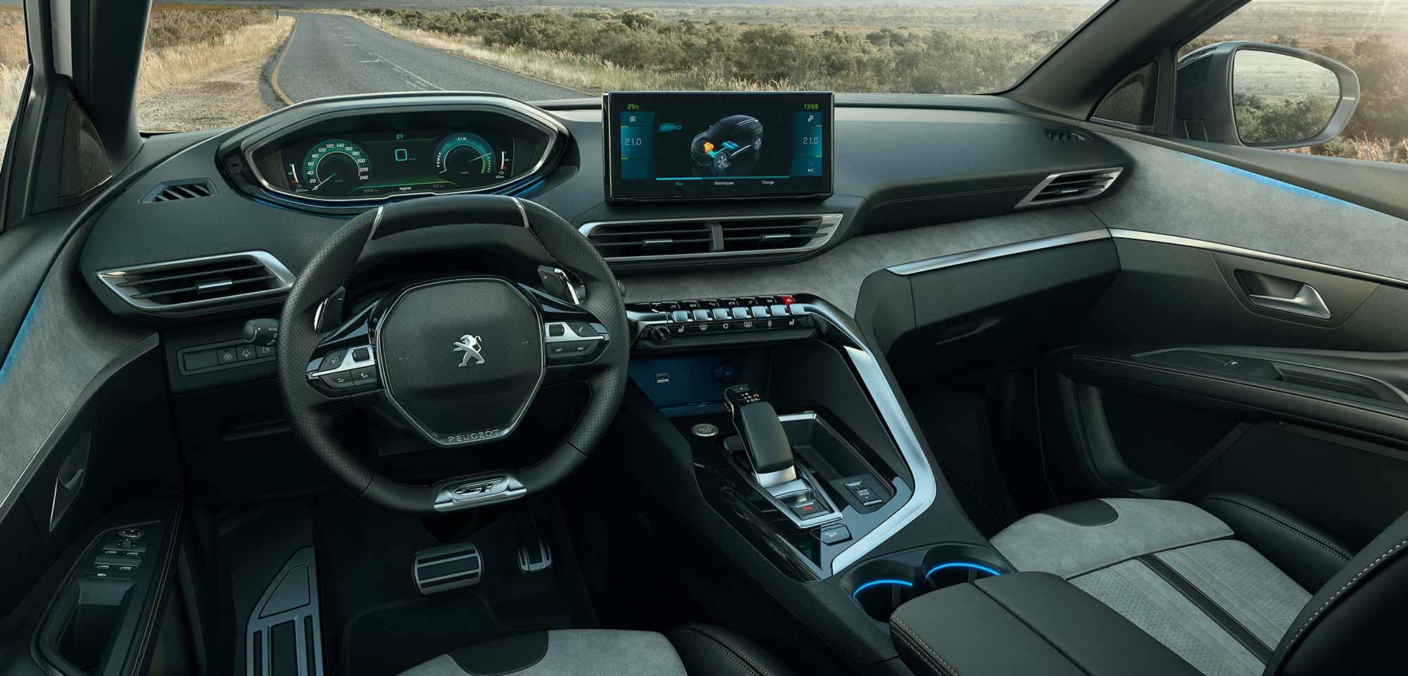 Peugeot 3008 SUV cockpit